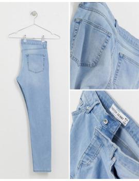Topman – Enge Jeans In Verwaschenem Hellblau by Asos