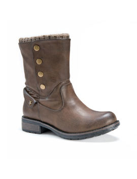 Muk Luks Womens Crumpet Winter Boots Flat Heel by Muk Luks