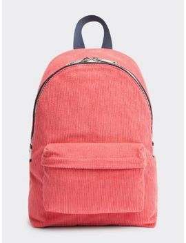 Tjw Rucksack Aus Cord by Tommy Jeans