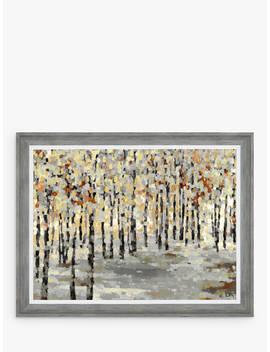 Anne Villay   Vibrant Forest Framed Print, 70 X 90cm by John Lewis & Partners