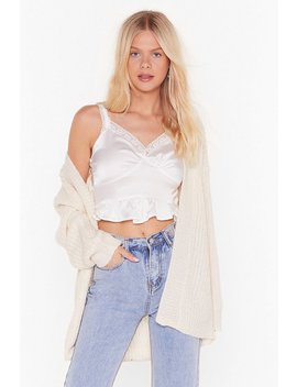 Tell Knit Like Knit It Is Cardigan by Nasty Gal