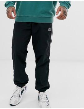 Adidas Originals – Schwarze Jogginghose Mit 3 Streifen by Asos