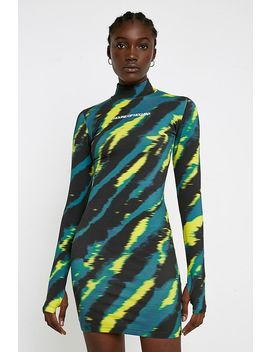 House Of Holland Tie Dye Mini Dress by House Of Holland