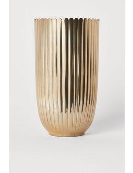 Grote Metalen Vaas by H&M