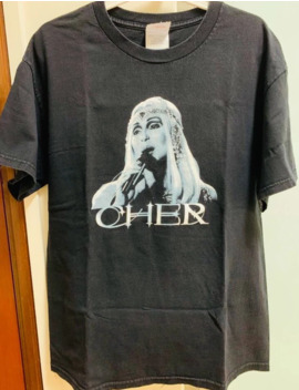 2003 Cher Farewell Tour Tee by Vintage  ×  Band Tees  ×