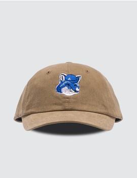 Ader Error X Maison Kitsune Fox Head Cap by Maison Kitsune