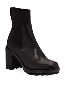 Shiloh High Gored Booties, Black by Rag & Bone