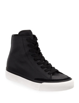 Rb Leather High Top Sneakers by Rag & Bone