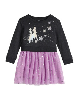 Toddler Girl Disney's Frozen 2 Anna And Elsa Sweatshirt Tutu Dress By Jumping Bean® by Toddler Girl Disney's Frozen 2 Anna And Elsa Sweatshirt Tutu Dress By Jumping Bean