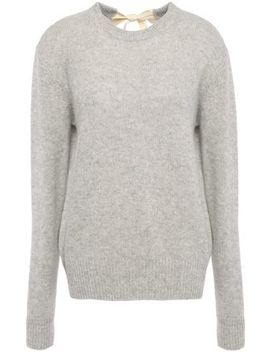 Bow Detailed Cashmere Sweater by Joseph