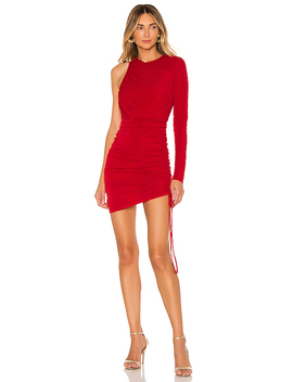 X Revolve Farrah Mini Dress In Red by Michael Costello