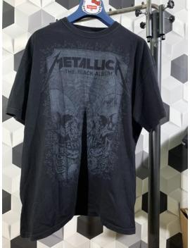 Metallica The Black Album Shirt Size Xxl by Vintage  ×  Metallica  ×  Band Tees  ×