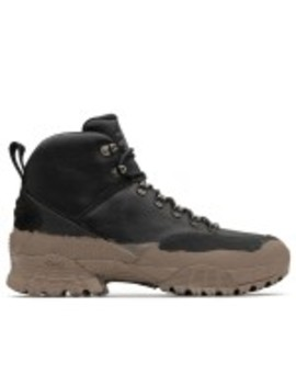 Mmw/Stussy Hiking Boot (Black) by Dover Street Market