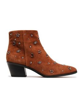 Studded Suede Ankle Boots by Rebecca Minkoff