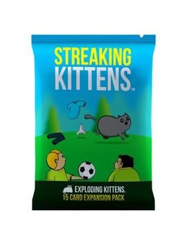 Streaking Kittens Game   Second Expansion Of Exploding Kittens by Exploding Kittens