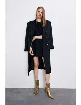 Vestido Mini Com Volume by Zara