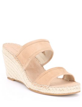 Nalene Suede Wedges by Cupcakes & Cashmere