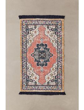 Sofia Red Printed 3x5 Rug by Urban Outfitters
