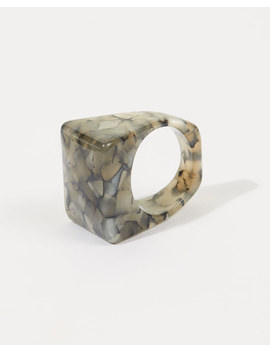 Resin Cocktail Ring by Jigsaw