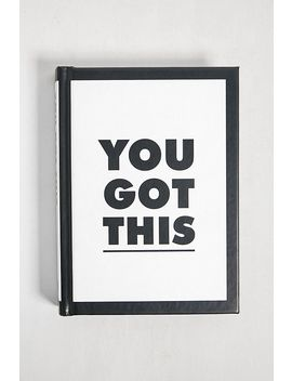 You Got This By Summersdale by Urban Outfitters