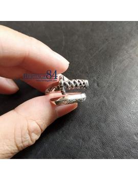 Katana Silver Ring, For Man & Women,Wrap Around Ring, Japanese Samurai Sword, Silver Ring For Man, Adjustable Ring For Index Middle Finger by Etsy