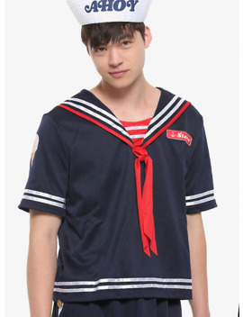 Stranger Things Scoops Ahoy Steve Costume by Hot Topic