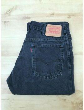 Men's Levi's 517 Straight Leg Black Jeans W31 L33 (#A735) by Levi's