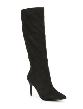 Kinga Slip On Stiletto Boots by Steve Madden