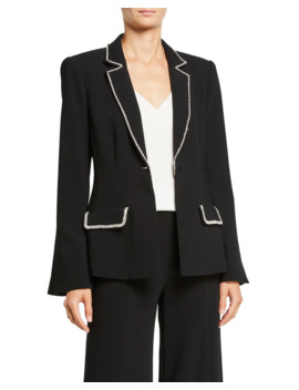 Yumi Embellished Blazer by Cinq A Sept
