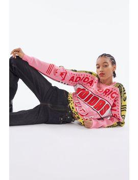 Adidas Intarsia Knit Sweater by Adidas