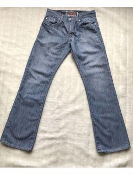 Levi's 527 Mens Jeans W30 L32 Denim Blue Mid Wash Low Bootcut by Levis
