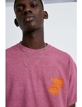 "Urban Outfitters – Meliertes T Shirt ""Future"" In Beere by Urban Outfitters Shoppen"