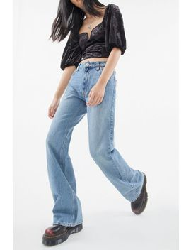 Bdg Mid Rise Wide Leg Puddle Jean by Bdg