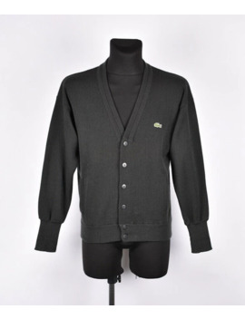 Lacoste Chemise Cardigan Men Sweater Size 3 by Lacoste  ×