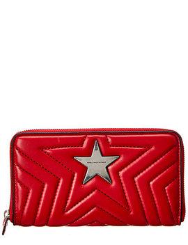 Stella Mc Cartney Stella Star Zip Around Wallet by Stella Mccartney