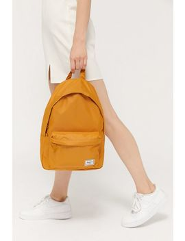 Herschel Supply Co. Uo Exclusive Classic Mid Volume Light Yellow Backpack by Herschel Supply Co.