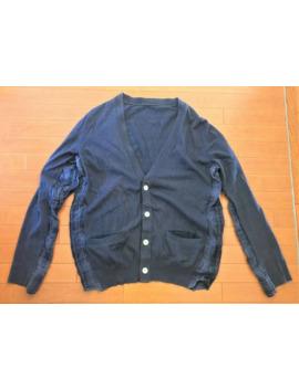 Patchwork Plaid Cardigan Sweater by Sacai  ×  Kolor  ×