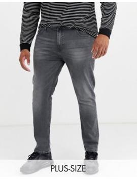 Burton Menswear Big &Amp; Tall Jeans In Grey by Burton Menswear London