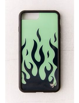 Wildflower Neon Flame I Phone Case by Wildflower
