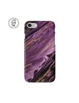 Purple, Dark Violet, Agate Design, Phone Case, I Phone, Samsung, Marble Phone Case, Marble Phone Cover, Geode, Quartz, Phone Cover by Etsy