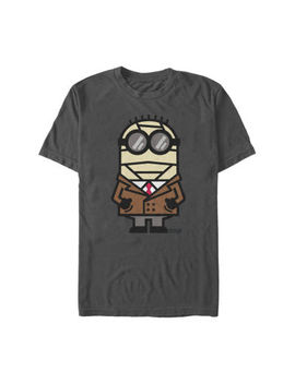 Despicable Me Invisible Halloween Monster Mens Crew Neck Short Sleeve Minons Graphic T Shirt by Fifth Sun