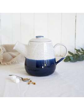 Hand Thrown Large Ceramic Teapot by Etsy