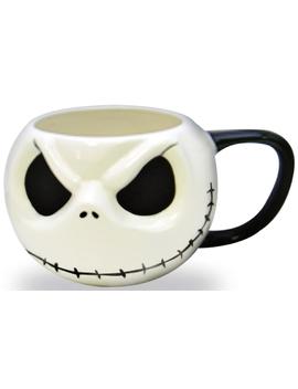 The Nightmare Before Christmas Jack Head Ceramic Mug by The Nightmare Before Christmas
