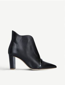 Clara Leather Ankle Boots by Malone Souliers
