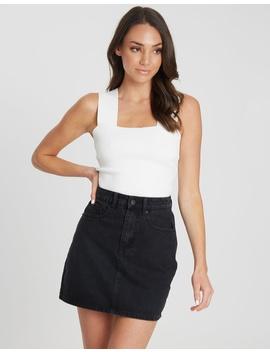 Marielle Denim Skirt by Tussah
