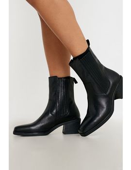 Vagabond Simone Black Western Boots by Vagabond