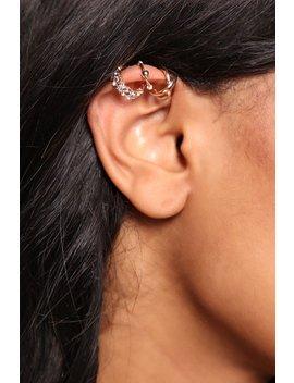 Dainty Thing Ear Cuff Set   Gold by Fashion Nova