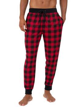 Fruit Of The Loom Men's Knit Waffle Jogger Lounge Pant by Fruit Of The Loom