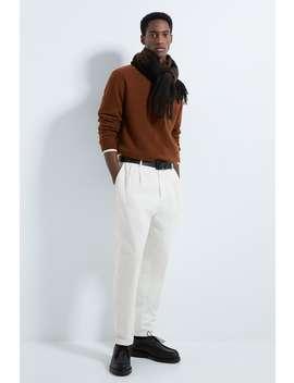 Basic Wool Blend Sweater by Zara
