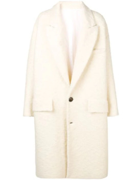 Oversize Two Buttons Coat by Ami Paris